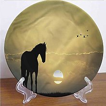 Channing Southey 8 Inch Horse Ceramic Decorative