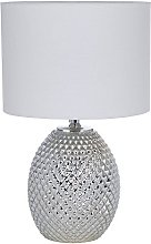 Chantelle Champagne Diamond Cut Pattern Glass