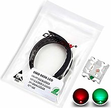 Chanzon 100 pcs 0603 Red & Green Bicolor SMD LED