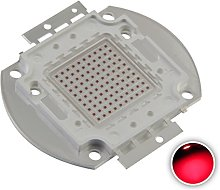 Chanzon High Power Led Chip 100W Red (3000mA / DC