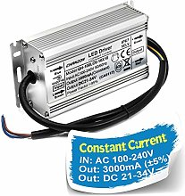 Chanzon LED Driver 3000mA (Constant Current