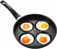 CHAO 4-Cup Egg Frying Non Stick Baking Egg Pan,