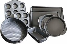 Chao Jia 8-Piece Non Stick Bakeware Set Includes: