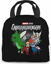 ChaojudingH Chihuahuaven-gers Lunch Bag Cooler Bag