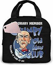 ChaojudingH Jeff Grumpy Old Man Club Lunch Bag