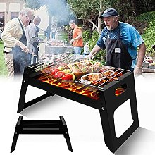 Charcoal Barbecue Grill, Suitcase Type Barbecue