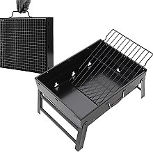 Charcoal Barbecue, Stainless Steel Notebook