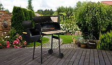 Charcoal Bbq - Bbq Grill with Built Smokehouse -
