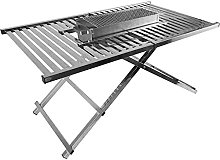 Charcoal BBQ Grill Folding Portable Charcoal Grill