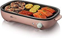 Charcoal BBQ Grill Smokeless Indoor Grill 1200W