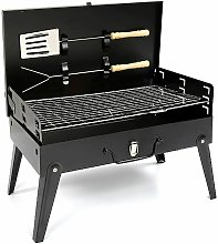 Charcoal Bbq Grill With Accessories