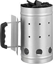 Charcoal Chimney Starter, Steel, BBQ Lighter,