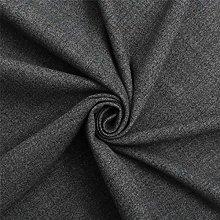 Charcoal Grey Highland Plain Upholstery Wool