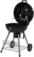 Charcoal Grill with Wheels 22.5 inch BBQ Camping
