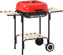 Charcoal Steel Grill Portable BBQ Outdoor Garden