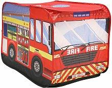 Charles Bentley Fire Engine Play Tent Indoor