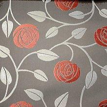 Charles Rennie Mackintosh Style Fabric - Eden