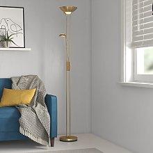 Charlie 180cm Torchiere Floor Lamp Zipcode Design