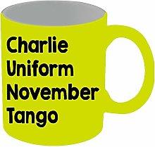 Charlie Uniform November Tango Mug 11 oz Ceramic