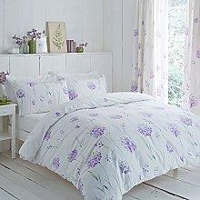 Vintage Charlotte Thomas Blue Pink Celeste Duvet Cover Pillowcase Set Curtains