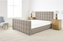 Charlton Upholstered Bed Frame Canora Grey Size: