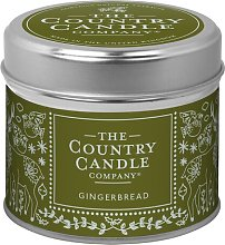 Charm Gingerbread Scented Jar Candle The Country
