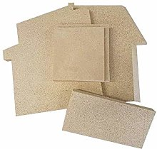 Charnwood FB25225225 Country 6 Back Vermiculite