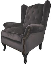 Charo Wingback Chair Rosalind Wheeler Upholstery: