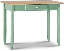 Charthouse Desk August Grove Colour: Green