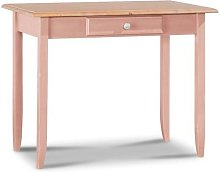Charthouse Desk August Grove Colour: Pink / Natural