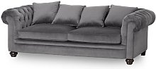 Chasse 4 Seater Chesterfield Sofa Rosalind Wheeler