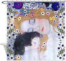 CHATAE Klimt Mother & Child Art Deco Shower