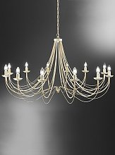 Chatham 12-Light Candle-Style Chandelier Fairmont