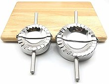 CHAWHO 2 Pack Stainless Steel Long handle Dumpling