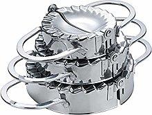 CHAWHO 3 Pack Stainless Steel Dumpling Maker - Pie