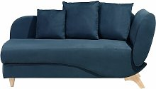 Chaz Chaise Lounge Isabelline Upholstery Colour: