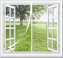 CHBIN Magnetic Fly Screen Door Window 90x130cm