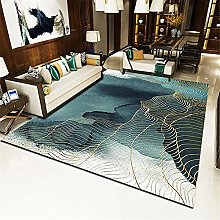 Cheap Area Rug Abstract geometric short piles,