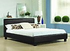 CHEAP BED FRAME DOUBLE KING SIZE LEATHER BEDS WITH