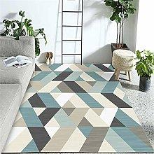 Cheap Carpet Blue Black Gray Breathable Carpet