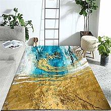 Cheap Carpet Modern Design Abstract Art Insulated