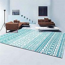 Cheap Carpet Universal Rugs Bedside Rug Blue