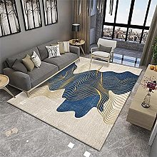 Cheap Extra Large Rugs Room Rug Golden blue beige