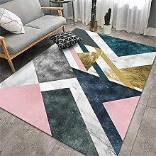 Cheap Online Carpets Kitchen Rug Pink golden blue