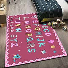 Cheap Online Carpets Rug Living Room Pink green