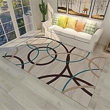 Cheap Rugs Simple Circle Geometric Art Odorless
