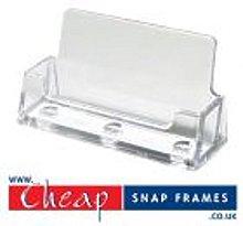 Cheap Snap Frames Business Card Holder - Landscape