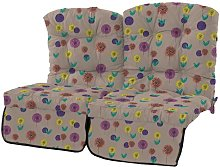 Cheatwood Sofa Cushion Bay Isle Home Colour: Spots