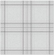 Check Tartan Plaid Pattern Wallpaper - Grey /