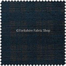 Checked Tartan Pattern Blue Colour Soft Chenille